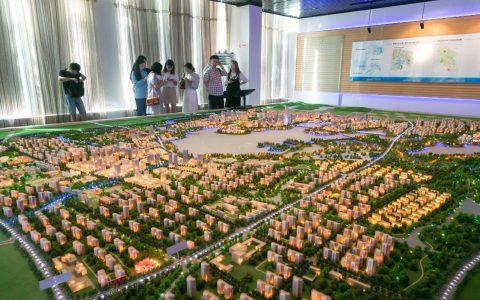 健步起飞迈向新中心——探访黄冈白潭湖片区建设