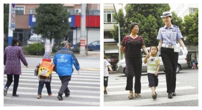 学校让家长到路口执勤 教体局回应一经查实将通报批评