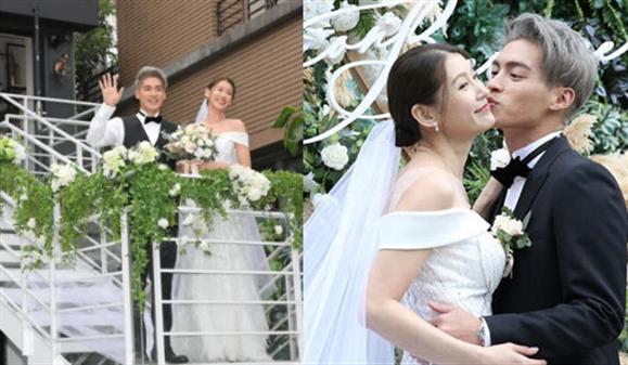 566许孟哲举办梦幻花园婚礼