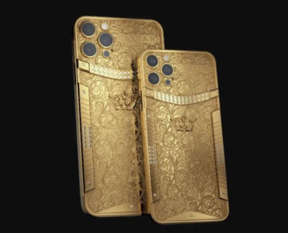 纯金版iPhone12 Pro每部80万元 这就是有钱人的世界吗 